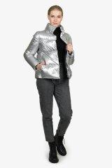 Куртка женская 2AWAM60-0720 `Add` серебро