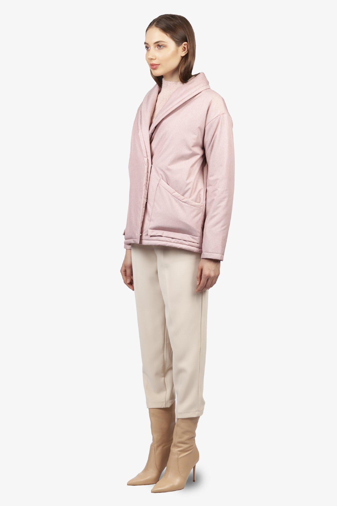 Куртка женская 027-0121 `Zheno` розовый